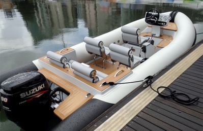 Rib-X Action 4 Superyacht Tender