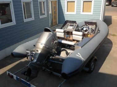 Rib-X Merrick Superyacht Tender