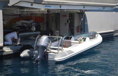 Rib-X Siren Superyacht Tender