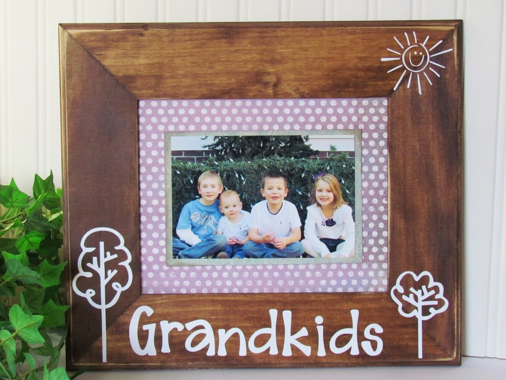 Diy Picture Frame With Vinyl