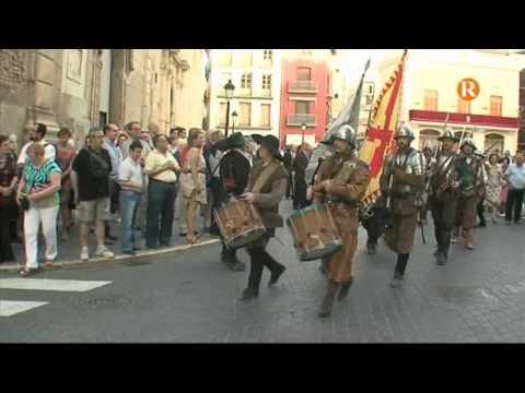 Algemesí ha celebrat la processó de Sant Onofre