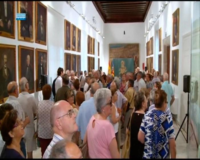 Els jubilats de Guadassuar visiten la Diputació de València