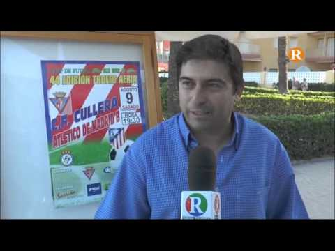 El president del Cullera CF analitza els objectius d'esta primera copa de la Ribera.