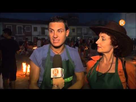 Benifaió celebra la multitudinària nit de les paelles