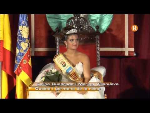 Benifaió presenta la seua reina de les festes de 2014