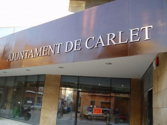 El Ayuntamiento de Carlet amortizará de forma anticipada más de 430.000 € de deuda bancaria que permitirá reducir impuestos en 2015