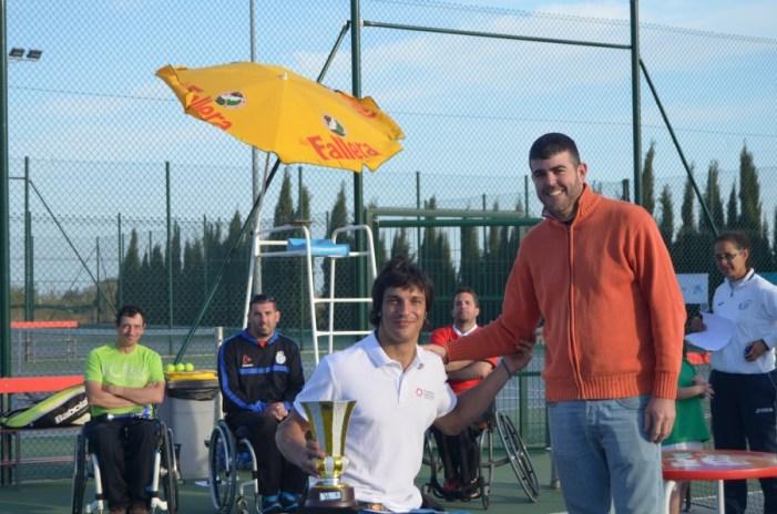 Almussafes ha acollit una nova edició de l'Open de Tenis adaptat