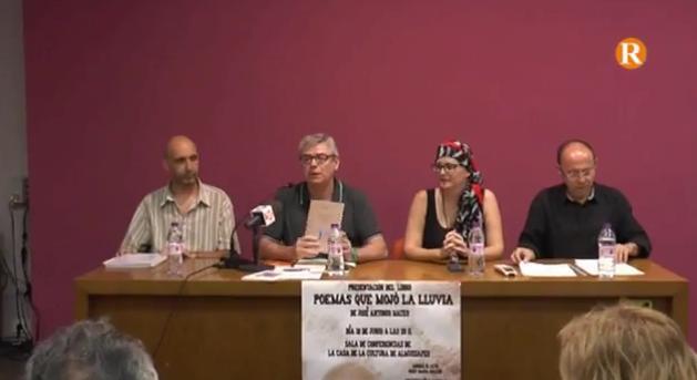 José Antonio Mateo presenta el seu quint poemari a Almussafes