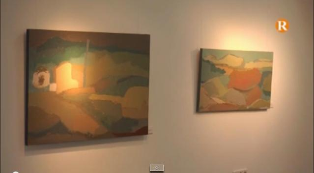 Joaquin Artes exposa a Guadassuar 'El paisaje a escena'