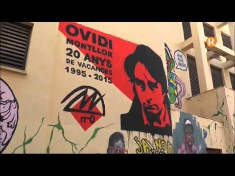 El rostre d'Ovidi Montllor ja decora el carrer Cónsol d'Alzira