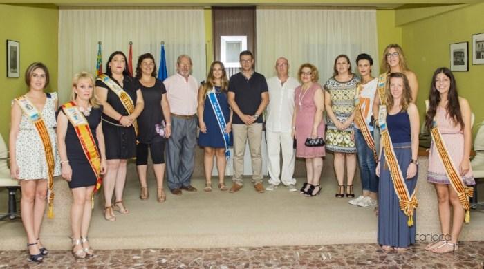 El Club de Pilota Valenciana homenatja a les dames de les Festes de la seua història