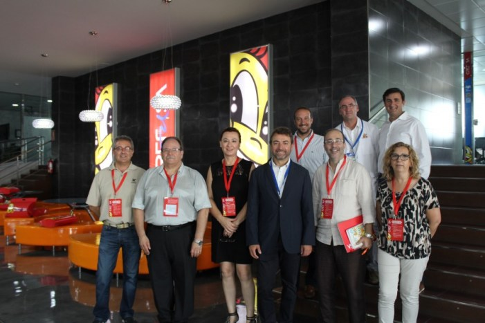 ICFC i Grefusa reben la visita del govern municipal d'Alzira