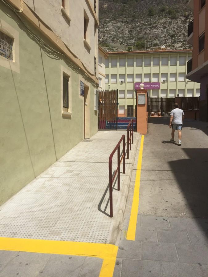 Cullera fa accessible l'edifici de Serveis Socials 20 anys després