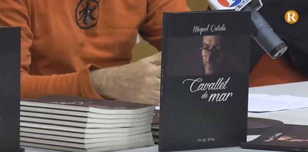 Miquel Català presenta 'Cavallet de Mar' a Guadassuar