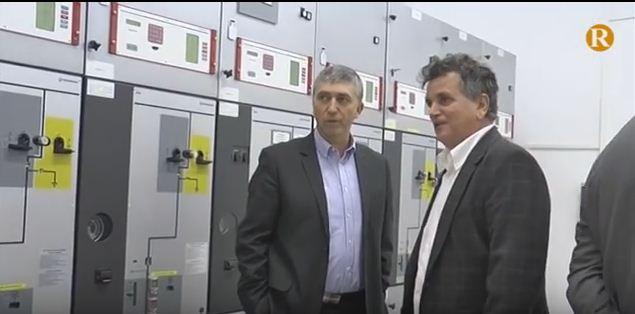 El conseller Rafa Climent visita la Cooperativa Elèctrica  d' Alginet