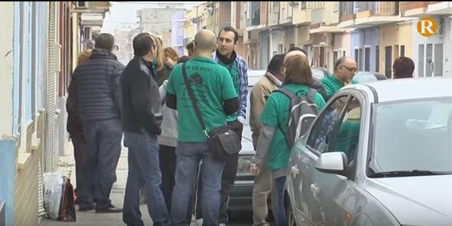 Paralitzat un desnonament a Villanueva de Castellón