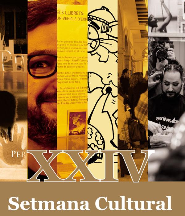 Programació de la XXIV Setmana Cultural Falla Plaça Malva d'Alzira