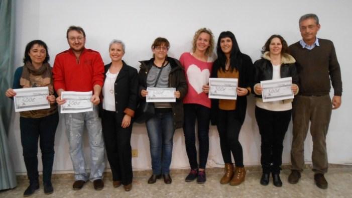 L'Ajuntament d'Alginet lliura els premis als guanyadors del VIII Concurs d'Aparadors, del VIII Concurs de Pessebres i del I Concurs d'Arbres