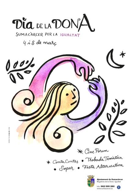 Sumacàrcer es prepara per a un cap de setmana intens en commemoració del Dia Internacional de les Dones.