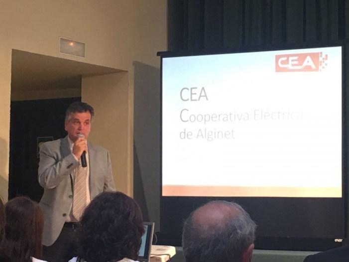 La Cooperativa Elèctrica d'Alginet exemple en Europa per a la Diputació de València