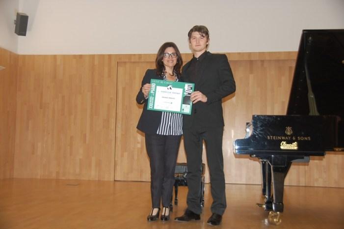 Harrison Herman guanya la màxima categoria del XXII Concurs Nacional de Piano