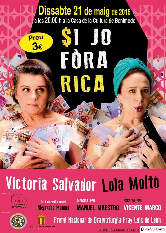 Fin de semana de literatura y teatro en Benimodo