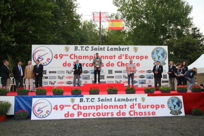 El tirador d'Almussafes, Rafa García, medalla de bronze en l'europeu de tir esportiu al plat