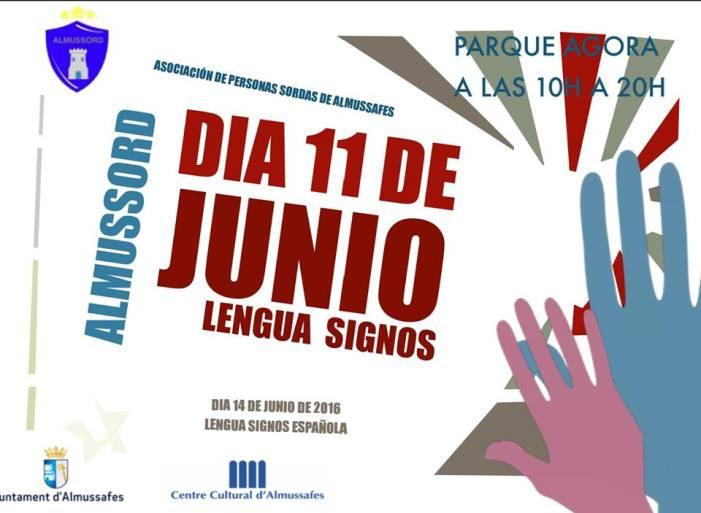 Almussafes organitza actes commemoratius del Dia Nacional de les llengües de signes