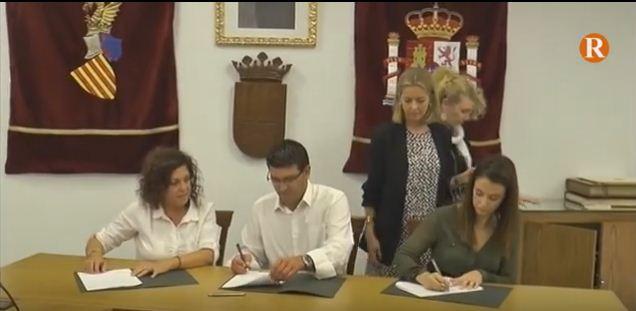La Diputació de València i la Pobla Llarga firmen un conveni de carreteres
