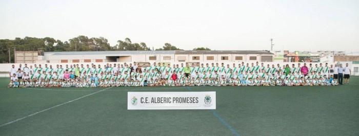 Un Alberic lleno de promesas futbolísticas