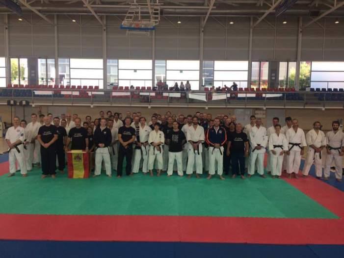 El Club Tomiki Aikido d'Almussafes aconsegueix dos plates en l'europeu celebrat en el municipi