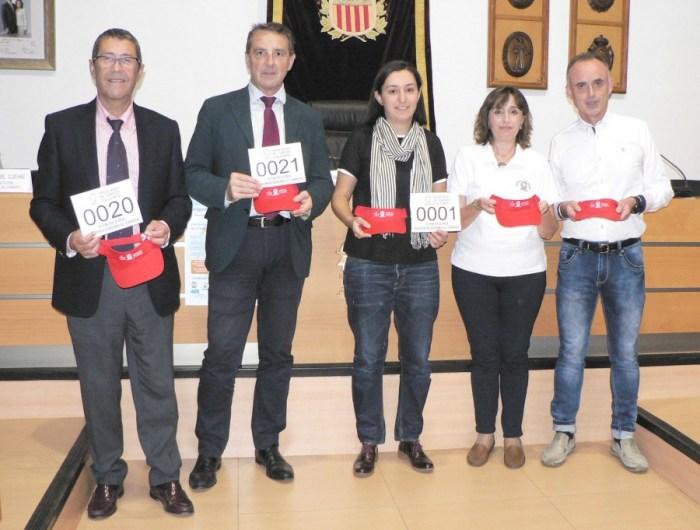 Algemesí aspira a superar los 2.000 participantes en su II Volta a Peu contra el Càncer del 6 de noviembre