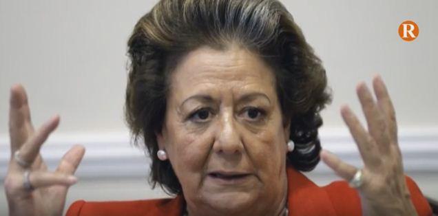 Mor Rita Barberà, ex- alcaldessa de València i senadora
