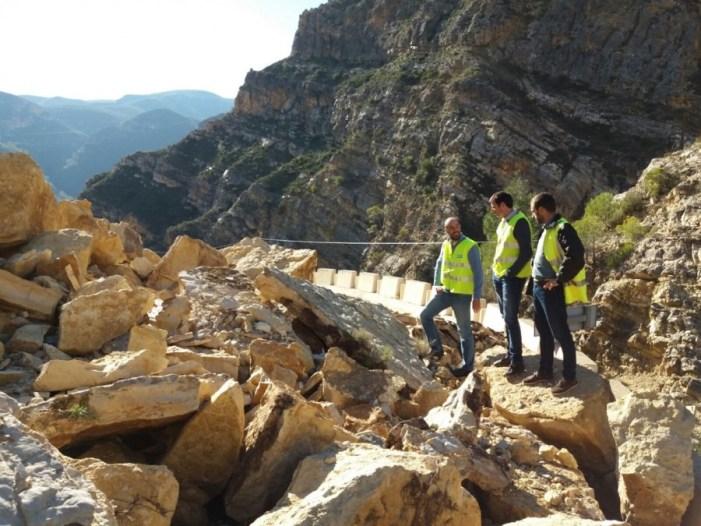 Jorge Rodríguez: «La Diputació posarà a disposició dels municipis els mitjans tècnics per a valorar els danys de les pluges»