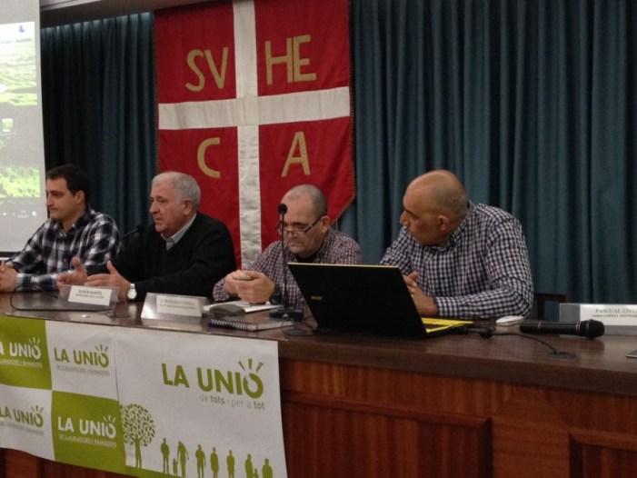 LA UNIÓ de Llauradors ha informat hui als arrossers en Sueca sobre las principals novedats del sector