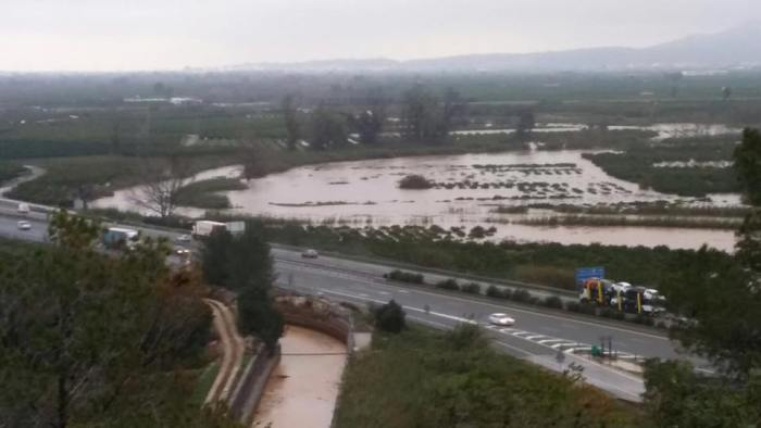 Els danys del temporal ascendeixen a 1'2 milions d'euros a Alberic