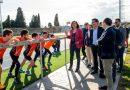 """Rodríguez en Quart: """"La inversió en el Parc Esportiu demostra que no ens hem equivocat en confiar en els municipis"""""""