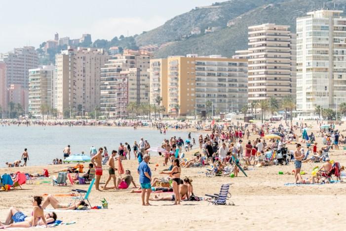 L'ocupació turística, prop del 90% en Cullera durant la Setmana Santa