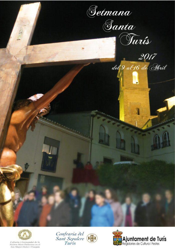 Setmana Santa Turís 2017 programa de celebracions