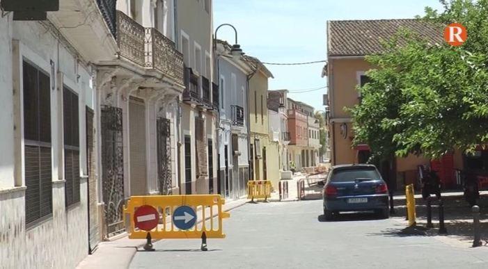 L'Ènova actua al carrer Cervantes amb el pla d'Inversions Financerament Sostenibles de la Diputació