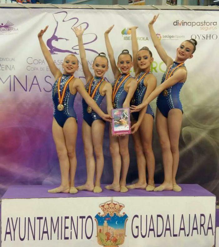 Les alevins del CEGA Almussafes, campiones d'Espanya en la Copa Base de Conjunts i per autonomies
