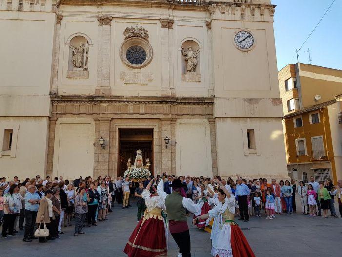 Benifaió celebró la fiesta en honor a la Virgen de los Desamparados