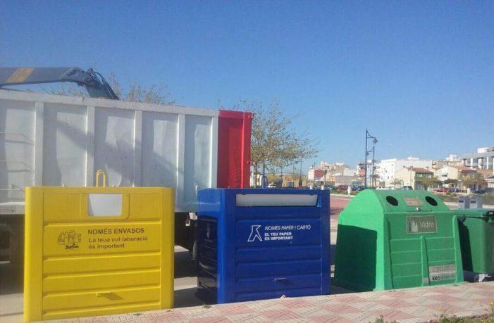 La tasa por el tratamiento de residuos urbanos disminuye en Benifaió