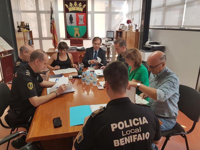 Los ilícitos penales disminuyen en Benifaió durante el primer semestre de 2017