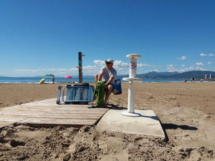 Cullera millora l'experiència de bany en la platja amb 'Punts còmodes'
