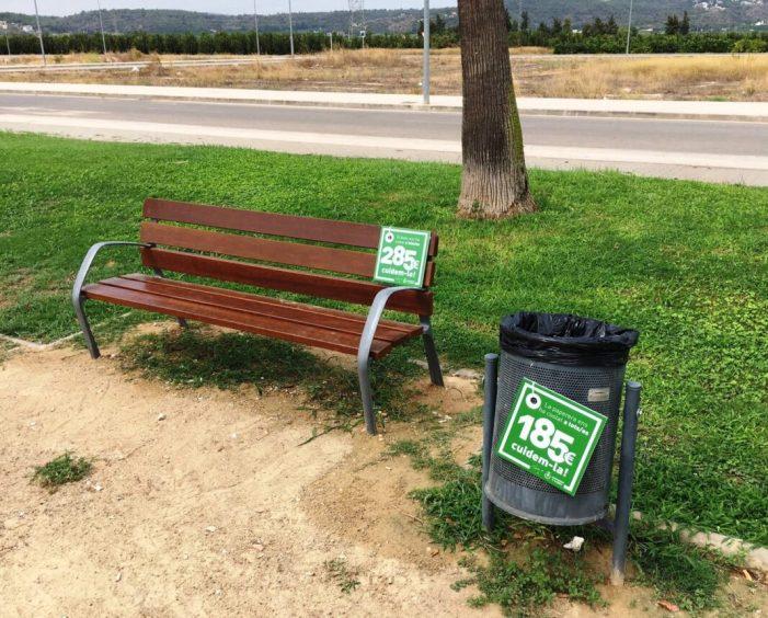 Alberic consciencia sobre el cost del mobiliari urbà