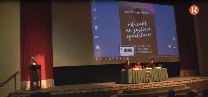 """Carlet ha acollit la presentació del projecte pioner """"Educant en justícia igualitària"""""""