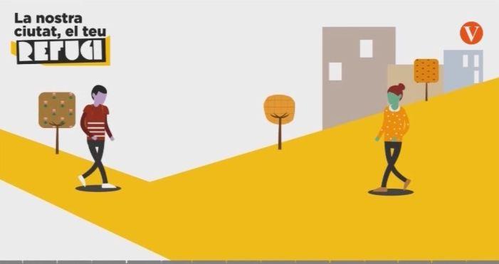 """L'Ajuntament de València dóna a coneixer les novetats de l'aplicació """"València refugi"""""""