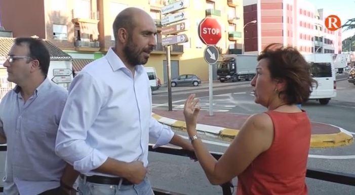 El Diputat de Carreteres, Pablo Seguí, es reuneix amb l'alcaldessa de Favara per analitzar l'estat del projecte de la variant