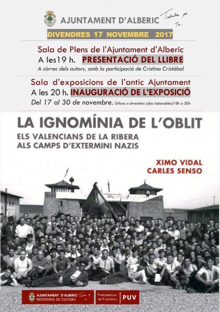 Alberic acull la presentació del llibre dels deportats riberencs a camps d'extermini nazis